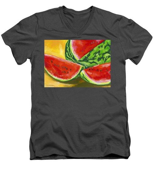 Summertime Delight Men's V-Neck T-Shirt