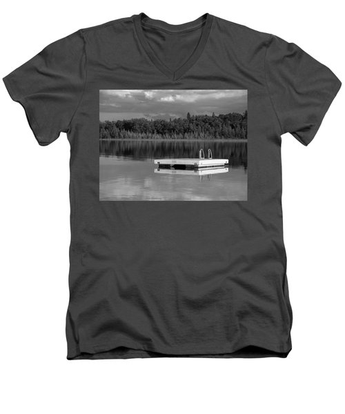 Summertime Reflections Men's V-Neck T-Shirt by Don Spenner