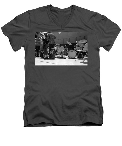 Sun Ra Arkestra Uc Davis Quad 2 Men's V-Neck T-Shirt