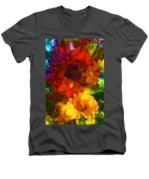 Sunflower 11 Men's V-Neck T-Shirt