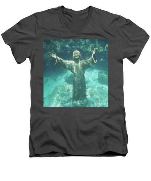 Sunken Savior Men's V-Neck T-Shirt