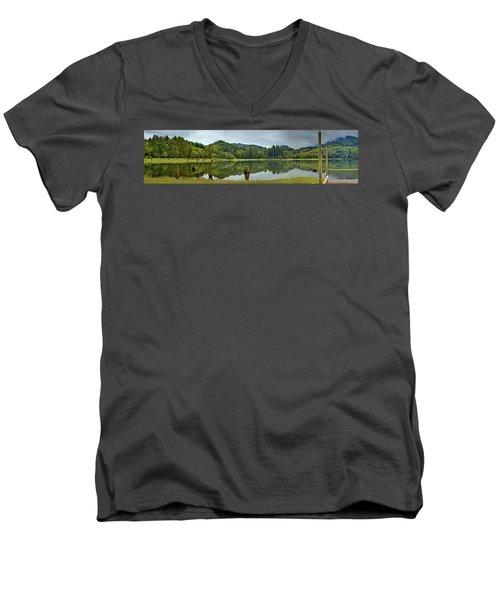 Sunny Beach Point 1 Men's V-Neck T-Shirt