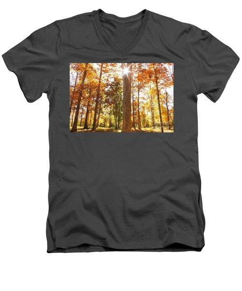 Sunny Hardwoods Men's V-Neck T-Shirt