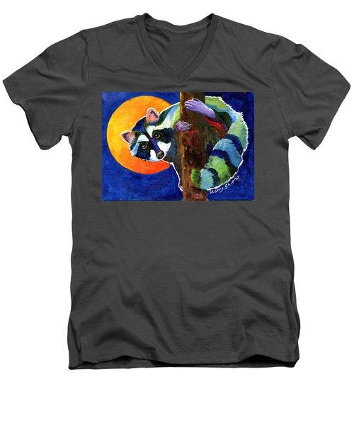 Sunny Side Up Men's V-Neck T-Shirt by Sherry Shipley