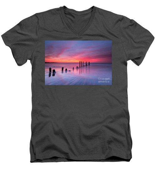 Sunrise At Deal Nj Men's V-Neck T-Shirt