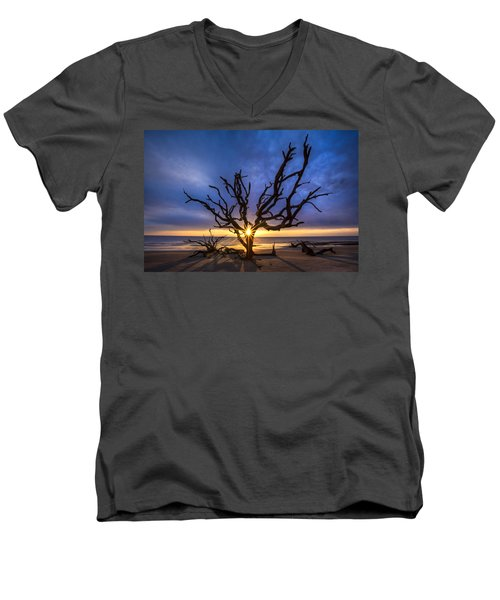 Sunrise Jewel Men's V-Neck T-Shirt