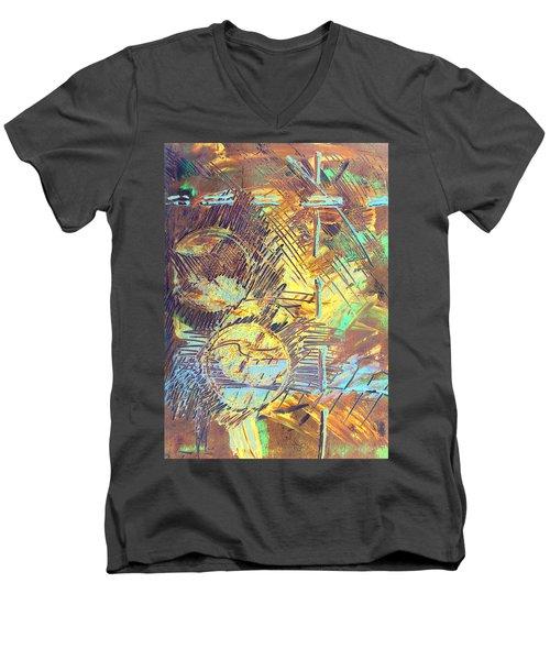 Sunrise One Men's V-Neck T-Shirt by Albert Puskaric