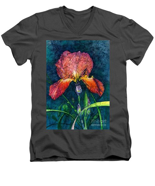 Sunset Iris Men's V-Neck T-Shirt