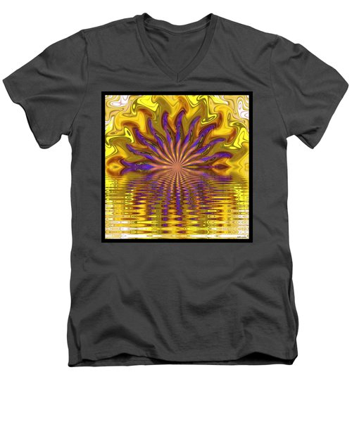 Sunset Of Sorts Men's V-Neck T-Shirt