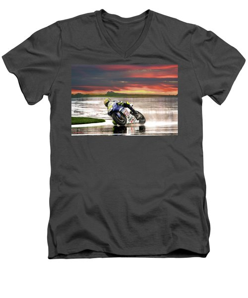 Sunset Rossi Men's V-Neck T-Shirt