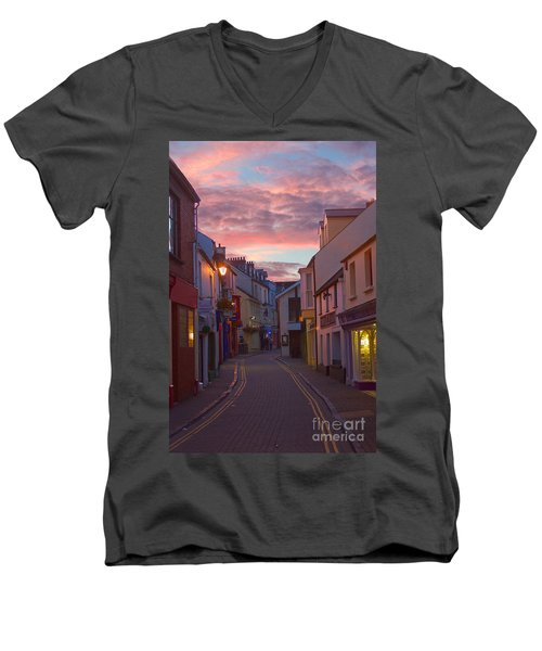 Sunset Street Men's V-Neck T-Shirt