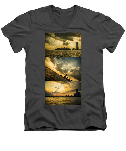 Sunset Trilogy Men's V-Neck T-Shirt