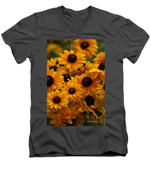 Sunshine On A Stem Men's V-Neck T-Shirt