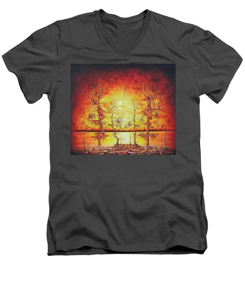 Sunshine On My Mind Men's V-Neck T-Shirt