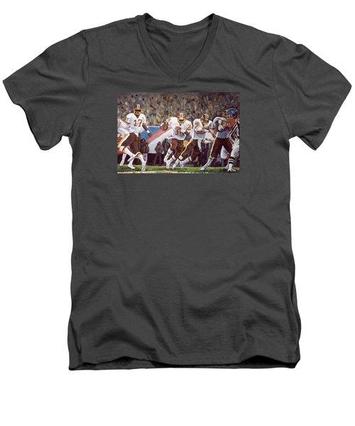 Superbowl Xii Men's V-Neck T-Shirt