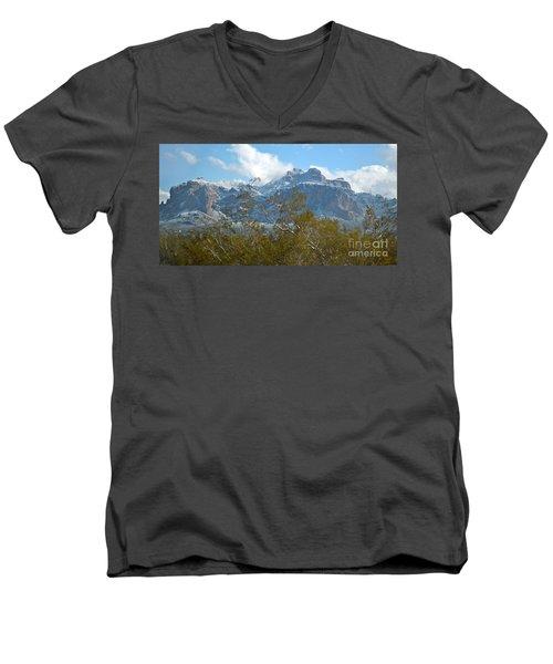 Superstition New Years Day Men's V-Neck T-Shirt by Pamela Walrath