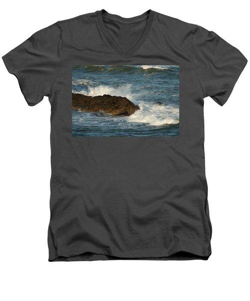 Surf And Rocks Men's V-Neck T-Shirt