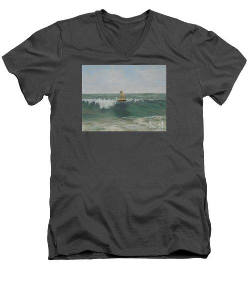 Surfer Lab Men's V-Neck T-Shirt