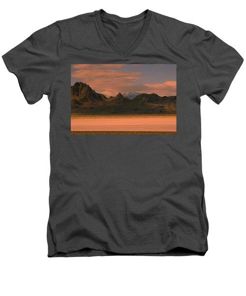 Surreal Mountains In Utah #4 Men's V-Neck T-Shirt