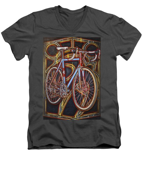 Swallow Bespoke Bicycle Men's V-Neck T-Shirt