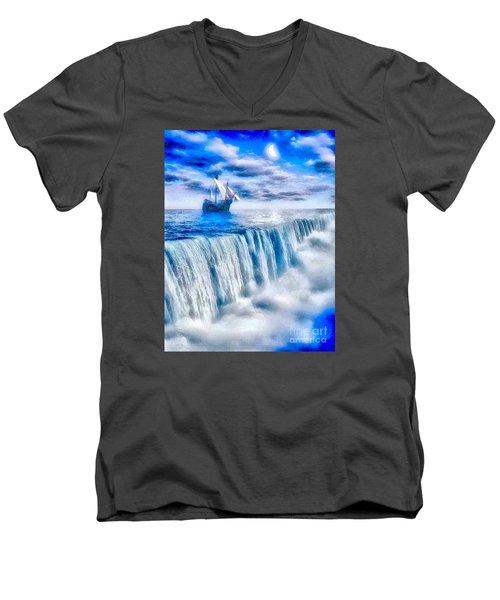 Swallow Falls Men's V-Neck T-Shirt