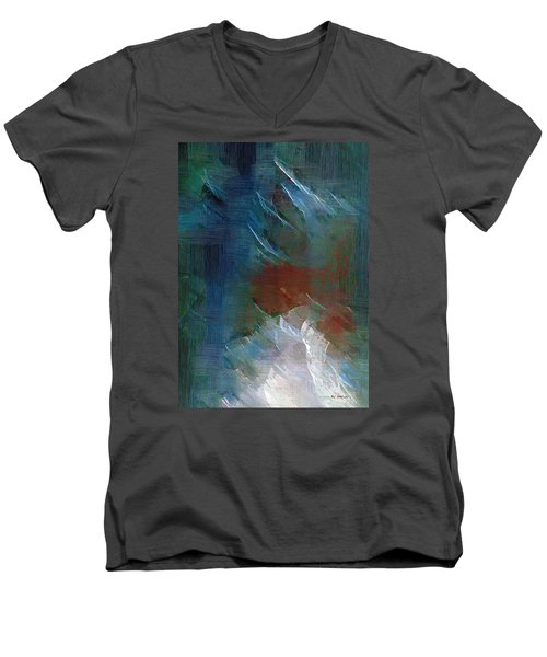 Swallowing Words Men's V-Neck T-Shirt