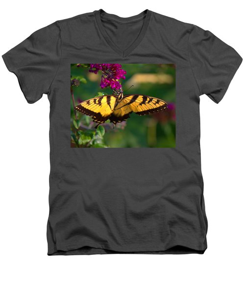 Swallowtail 1 Men's V-Neck T-Shirt
