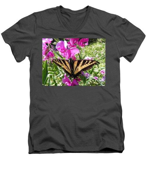 Swallowtail Men's V-Neck T-Shirt