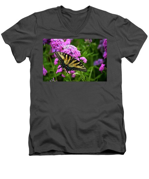Swallowtail Men's V-Neck T-Shirt