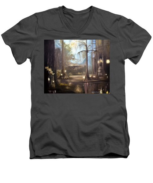 Swamp Life Men's V-Neck T-Shirt