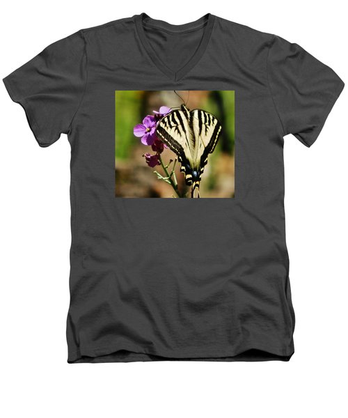 Sweet Attraction Men's V-Neck T-Shirt by VLee Watson