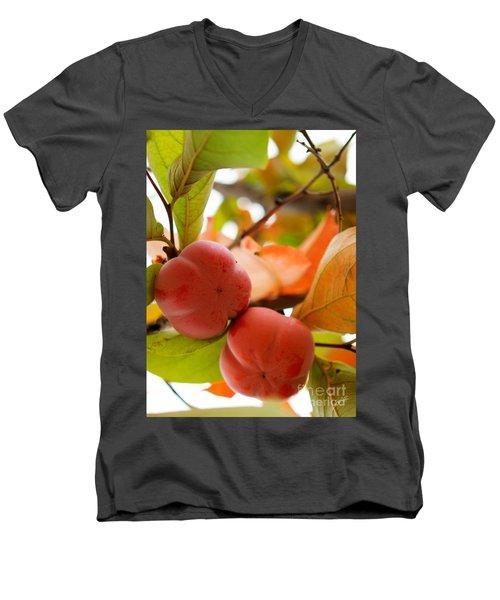 Men's V-Neck T-Shirt featuring the photograph Sweet Fruit by Erika Weber