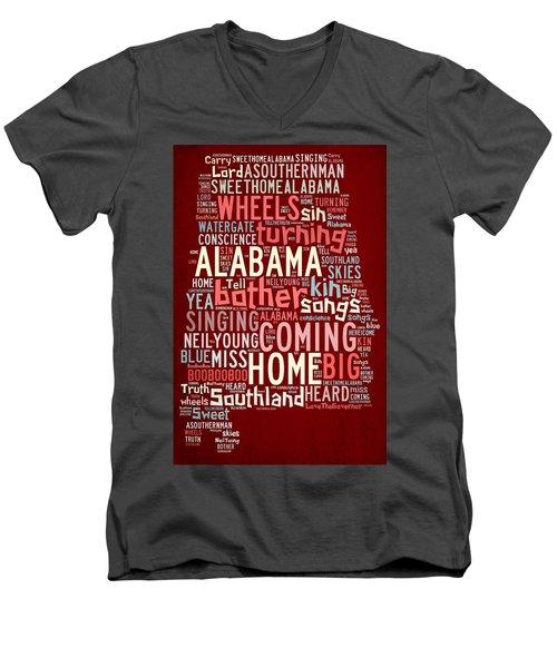 Sweet Home Alabama 4 Men's V-Neck T-Shirt
