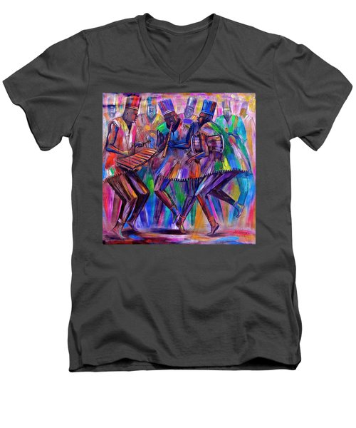 Sweet Rhythms Men's V-Neck T-Shirt