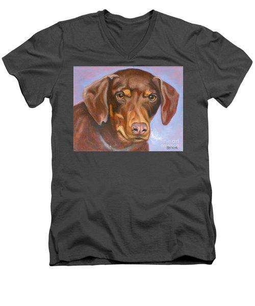 Rescued At Last Men's V-Neck T-Shirt