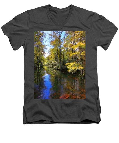 Sweetwater Strand - 3 Men's V-Neck T-Shirt