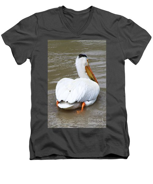 Swimming Away Men's V-Neck T-Shirt