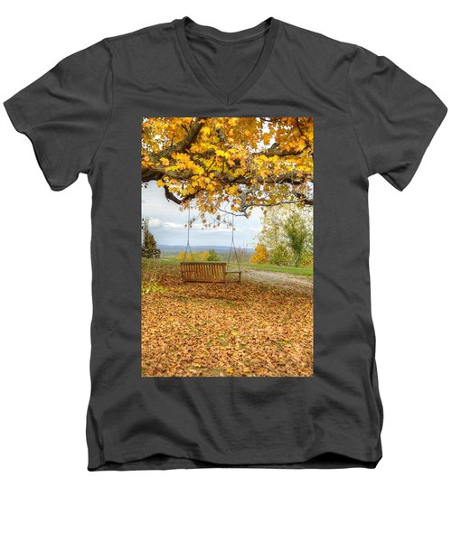 Swing With A View Men's V-Neck T-Shirt