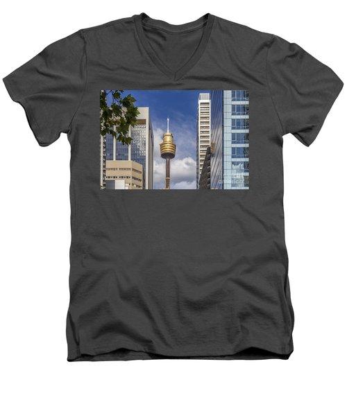 Sydney Tower Men's V-Neck T-Shirt