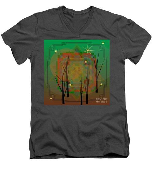 Sylvan 2013 Men's V-Neck T-Shirt