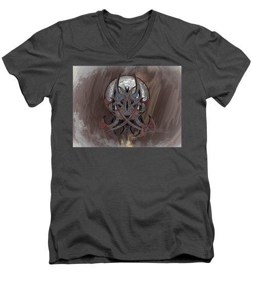 T Tat B 9/ Craftsman Men's V-Neck T-Shirt
