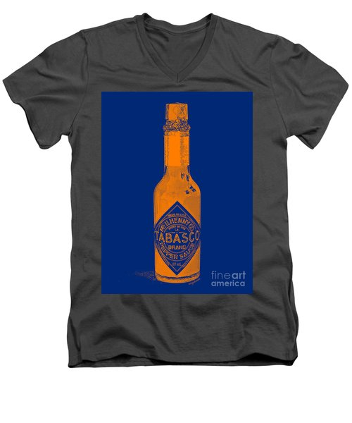 Tabasco Sauce 20130402grd2 Men's V-Neck T-Shirt