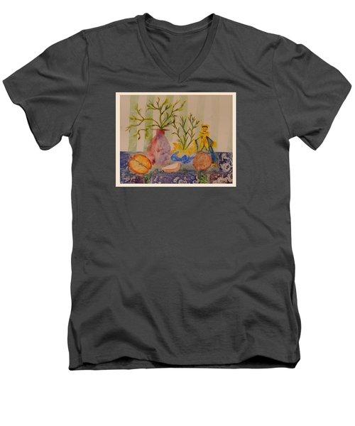 Table Setting Men's V-Neck T-Shirt