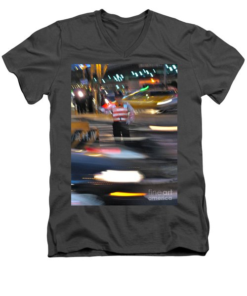 Taipei Traffic Men's V-Neck T-Shirt