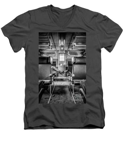 Take A Litte Trip Men's V-Neck T-Shirt