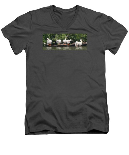 Taking Care Of Things Men's V-Neck T-Shirt by Bruce Bley