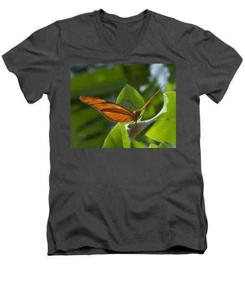 Taking Off Men's V-Neck T-Shirt