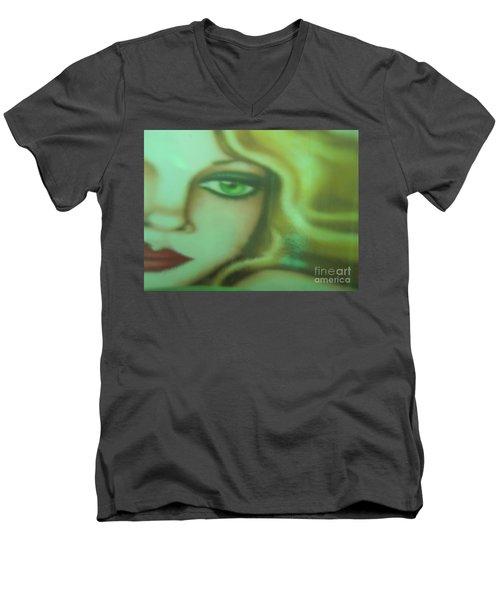 Tangled - Abstract Men's V-Neck T-Shirt