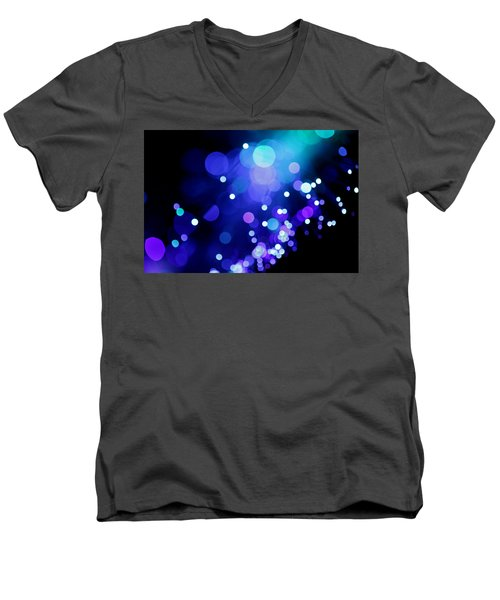 Tangled Up In Blue Men's V-Neck T-Shirt