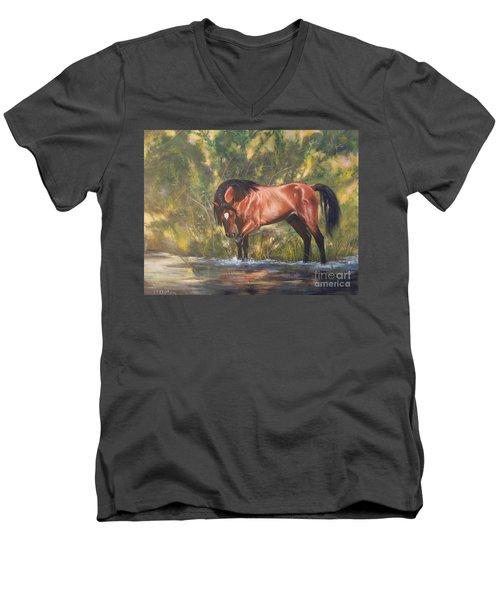 Tango Territory  Men's V-Neck T-Shirt